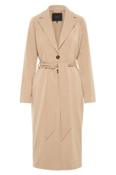 Y.A.S Casual Trenchcoat Dames Oranje(111097041)