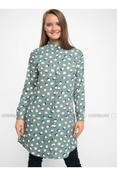 Green - Tunic - DeFacto(110325130)