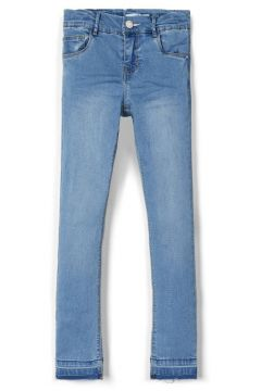 NAME IT Cropped Skinny Fit Jeans Dames Blauw(108807294)