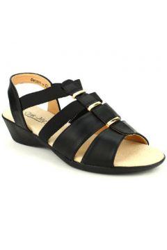 Espadrilles Cendriyon Compensées Noir Chaussures Femme(115425730)