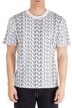 Men's short sleeve t-shirt crew neckline jumper logo(103477248)