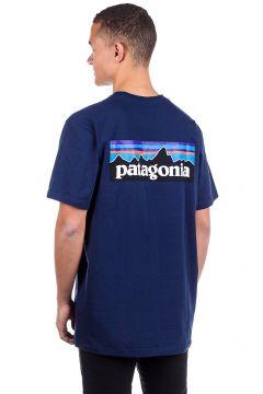Patagonia P-6 Logo Responsibili T-Shirt classic navy(112247397)