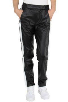 Jogging Oakwood Pantalon Bella en cuir ref_cco45537 Noir(98463862)