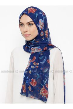 Saxe - Printed - Shawl - Qubbe(110317362)