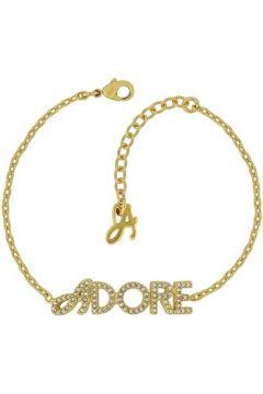 Bracelets Adore Bracelet en Métal Doré et Cristal Blanc Femme(115406102)