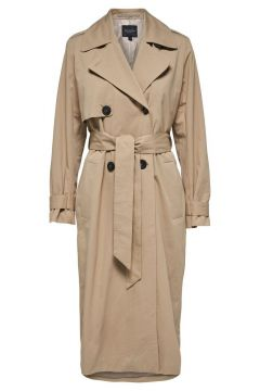 SELECTED Double-breasted Trenchcoat Dames Beige(111097556)