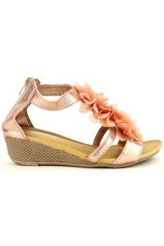 Espadrilles Cendriyon Compensées Rose Chaussures Femme(115425701)