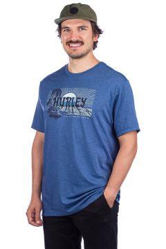 Hurley Horizon T-Shirt blauw(94060840)