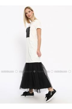 Black - Unlined - Skirt - Missemramiss(110330915)