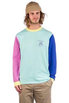 Teddy Fresh Colorblock Long Sleeve T-Shirt blauw(108030513)
