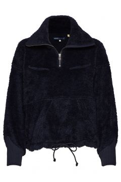 Lmc Sherpa Track Popover Navy Sweat-shirt Pullover Blau LEVI\'S MADE & CRAFTED(114156537)