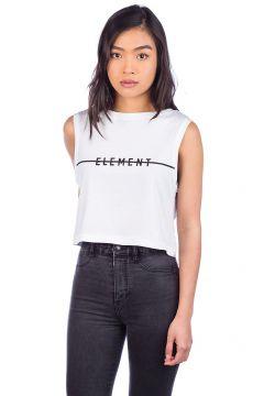 Element Line Logo Crop Tank Top wit(85195355)