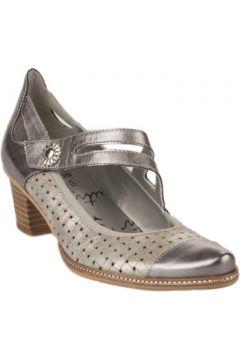 Chaussures escarpins Un tour en ville Escarpins femme - - Gris argent - 36(115605570)