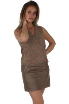 Robe Redskins Robe Emma cuir ref_trk39339-havana(88524445)