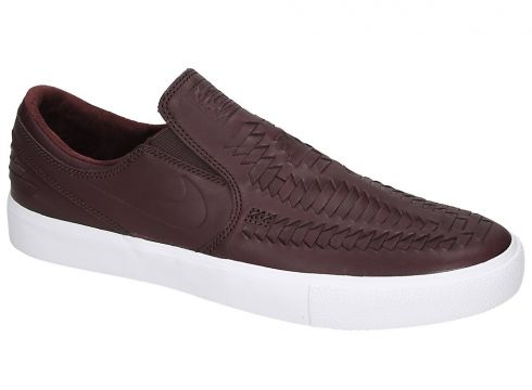 Nike Zoom Janoski Slip RM Crafted Skate Shoes bruin(94104655)