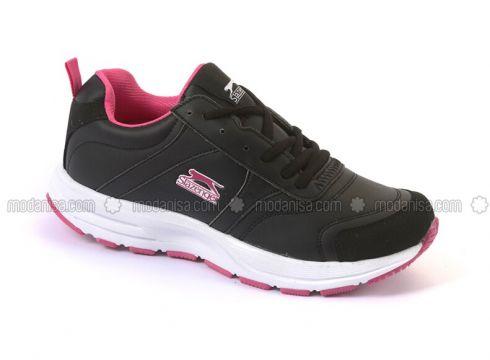 Black - Fuchsia - Sport - Sports Shoes - Slazenger(110336606)