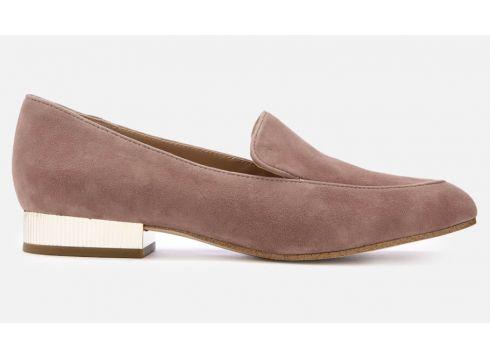 MICHAEL MICHAEL KORS Women\'s Valerie Slip-On Flats - Dusty Rose - UK 3/US 6 - Rosa(68698660)