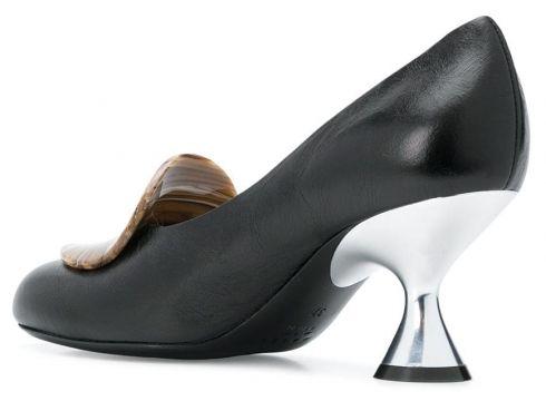 Marni resin detail pumps - Noir(76518426)