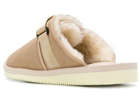 Suicoke slippers à bandes ajustables - Marron(76578525)