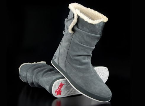 K1X Shorty Crew Boots Dark Grey(87045760)