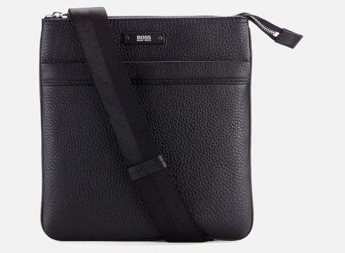 BOSS Traveller Zip Cross Body Bag - Black(84673637)