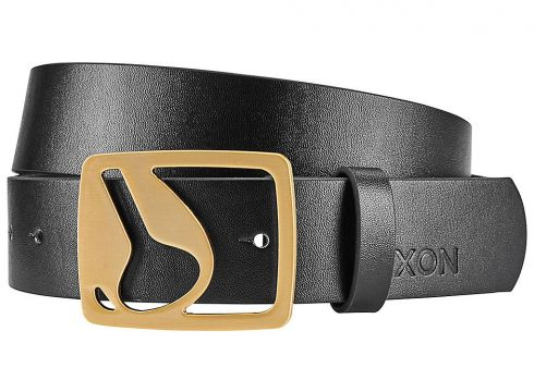 Nixon Icon Cut Out Vegan Belt zwart(85190017)