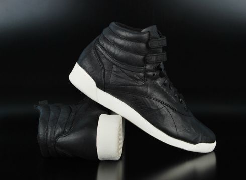 Reebok F/S Hi Premium Lux Black Chalk Sneaker(87045377)