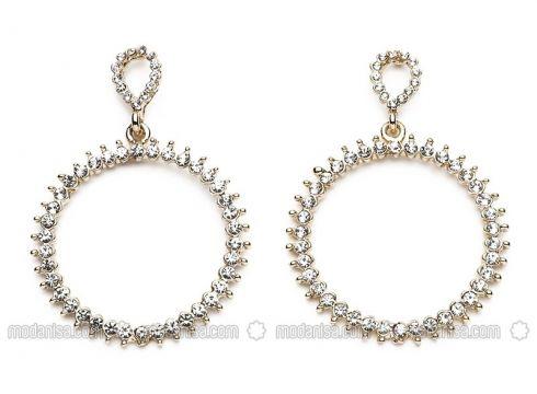 White - Gold - Earring - Modex(100926023)