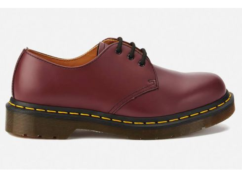 Dr. Martens 1461 Smooth Leather 3-Eye Shoes - Cherry Red - UK 3 - Rot(50496302)