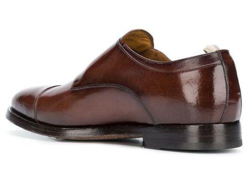 Officine Creative chaussures à boucles classiques - Marron(76579381)