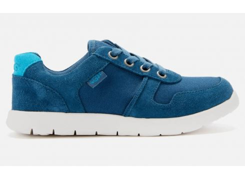 UGG Kids\' Tygo Low Top Trainers - Ensign Blue - UK 12 Kids(90300224)