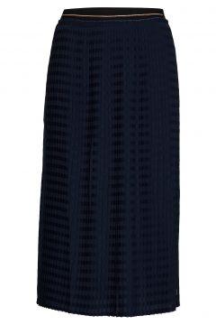 Skirt In Plissé W. Cc Logo Elastic Knielanges Kleid Blau COSTER COPENHAGEN(114163348)