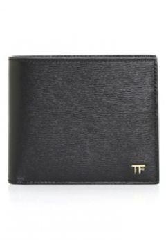 Tom Ford Erkek Siyah Logolu Deri Cüzdan EU(117446537)