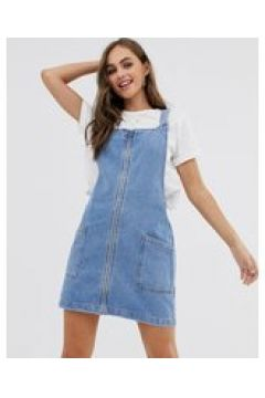 Pimkie - Scamiciato di jeans con zip sul davanti blu(124132365)