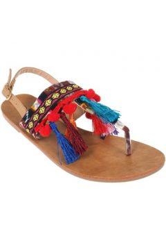 Sandales Culture Sud Chitta camel peruvien(127855701)