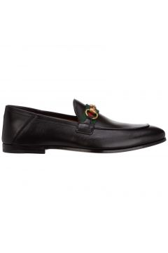 Men's leather loafers moccasins(122988155)