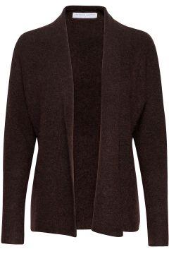 Soft Short Shawl Cardigan Cardigan Strickpullover Braun CATHRINE HAMMEL(121110388)
