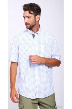 Мужские рубашки с коротким рукавом(109015297)