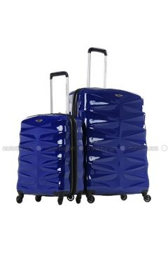 Navy Blue - Suitcases - NK(110328987)