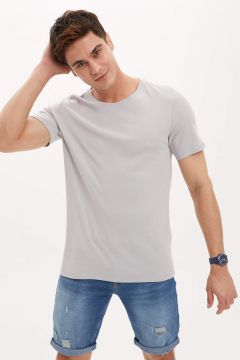DeFacto Erkek Extra Slim Fit T-shirt(119064091)