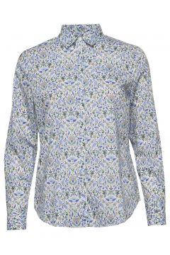 Kirsten Liberty Fleur Shirt Langärmliges Hemd Blau MORRIS LADY(116919963)