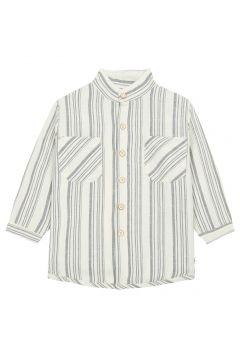 Hemd aus Baumwolle und Leinen(117482020)