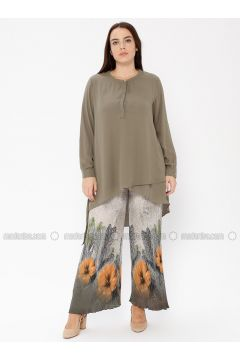 Green - Multi - Pants - Le Mirage(110338974)