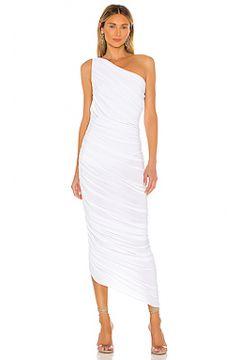 Вечернее платье с открытым плечом diana - Norma Kamali(115071301)