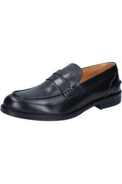 Chaussures Bruno Verri mocassins noir cuir AJ23(88517226)