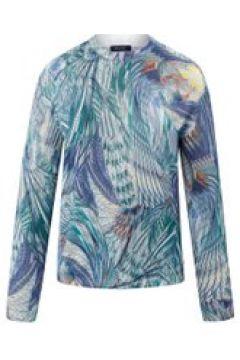 Pullover mit Allover-Print und Ziersteinen Basler ocean multicolour(120113533)