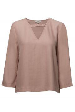 Shimako Bluse Langärmlig Pink DAGMAR(114150739)