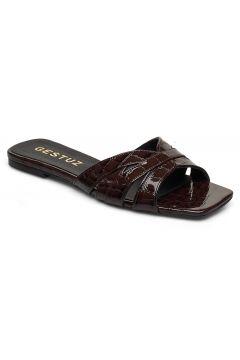 Ashleygz Sandal Hs20 Flache Sandalen Braun GESTUZ(114162477)