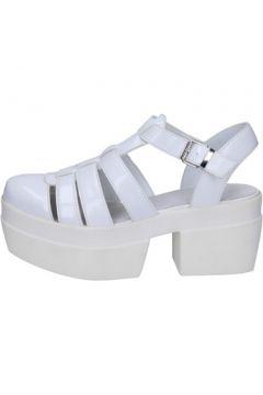 Sandales Cult sandales blanc cuir BT539(115442833)