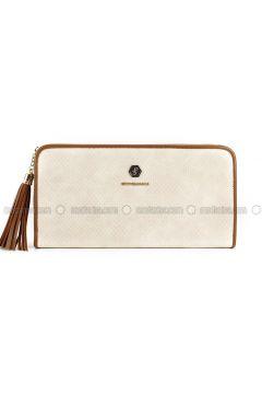 Beige - Clutch Bags / Handbags - Silver Polo(110324465)